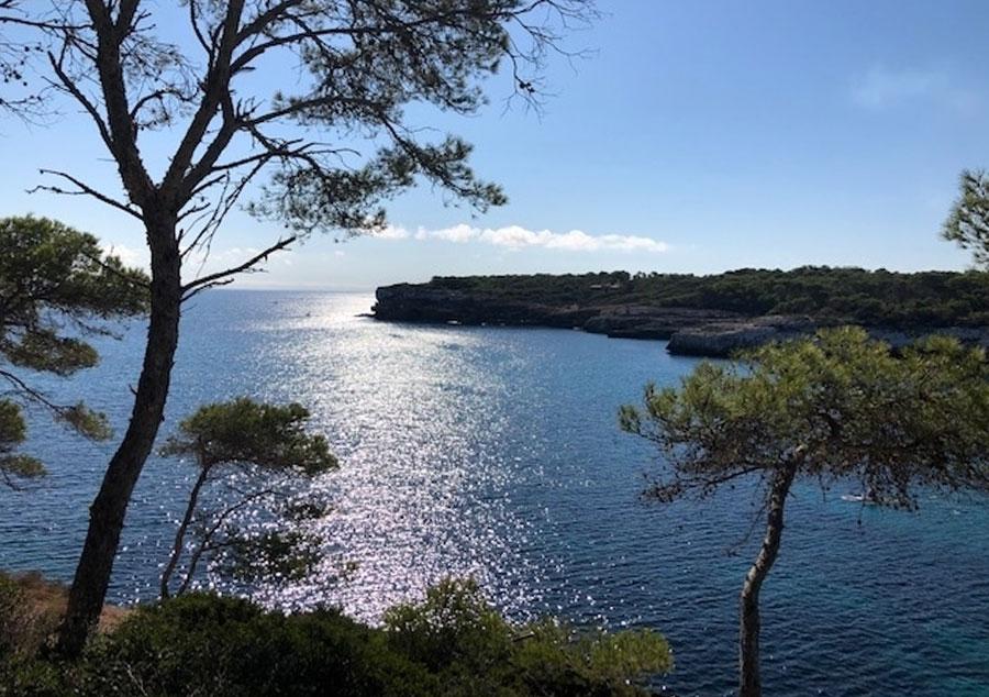 Mallorca Küstenlinie Mondrago