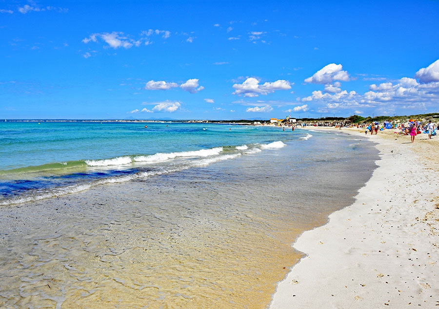 Playa Es Trenc im Südwesten