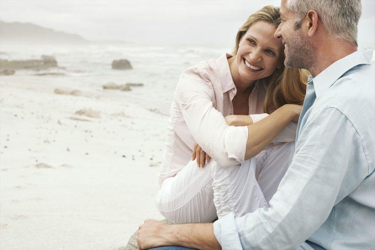 Über die Liebe - Paar am Strand